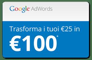 Coupon Code Google AdWords 75 euro