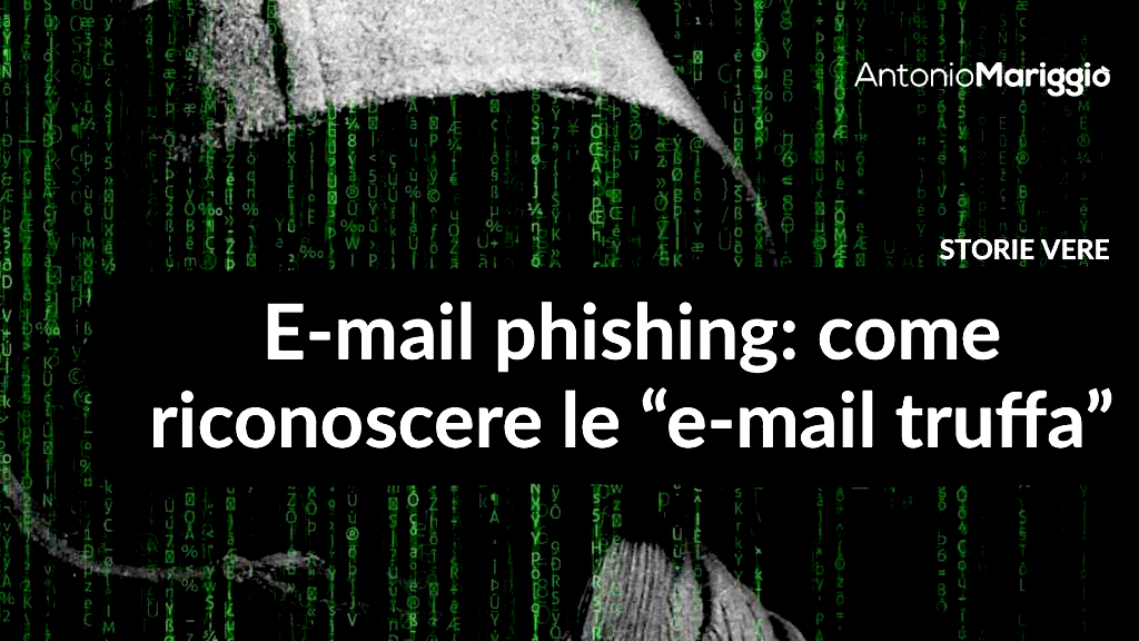 e-mail phishing