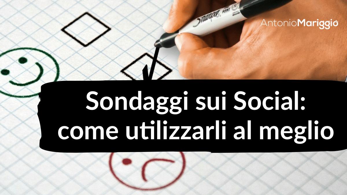 sondaggi sui social