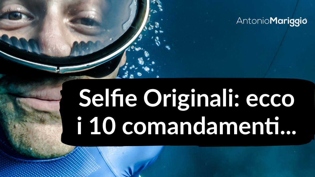 Come fare selfie originali