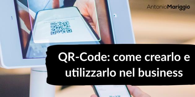 QR Code Antonio Mariggio