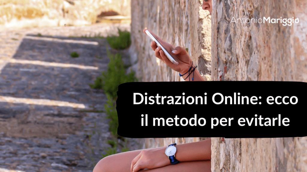 distrazioni online